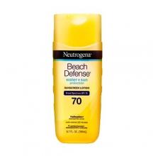 Neutrogena 輕透無感沙灘防曬乳 SPF 70