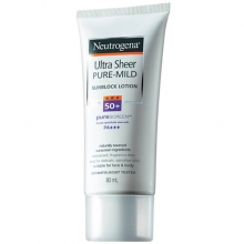 溫和全護輕透防曬乳- 露得清 Neutrogena