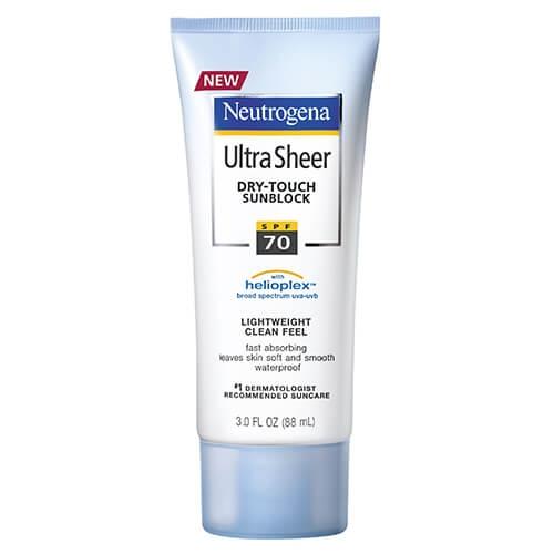 輕透無感防曬乳 SPF70+ - 露得清 Neutrogena