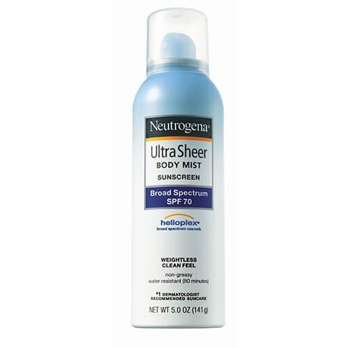 輕透無感防曬噴霧 SPF70+ - 露得清 Neutrogena