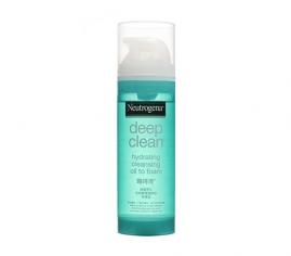 深層淨化洗卸輕透潔顏油─保濕型 - 露得清 Neutrogena